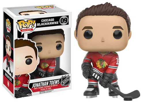 Funko NHL Chicago Blackhawks POP! Sports Hockey Jonathan Toews Vinyl Figure #09