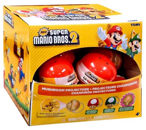 New Super Mario Bros 2 Mushroom Projectors Box [12 Packs]
