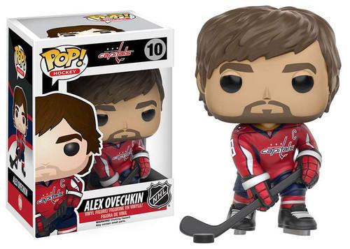 Funko NHL Washington Capitals POP! Sports Hockey Alex Ovechkin Vinyl Figure #10