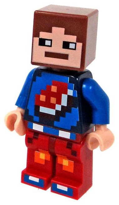 LEGO Minecraft Beefman Minifigure [Loose]