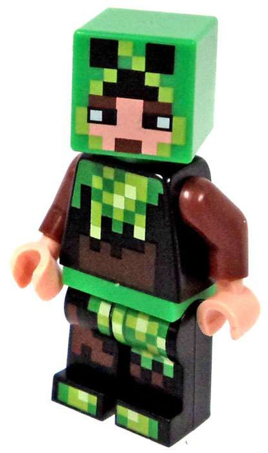 LEGO Minecraft Creeper Super-Fan Minifigure [Loose]