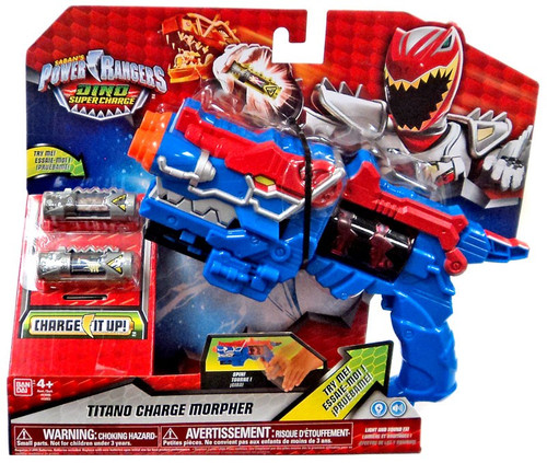 Power Rangers Dino Super Charge Titano Charge Morpher Roleplay Toy