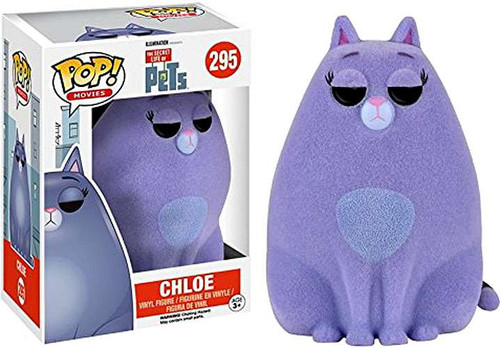 Funko The Secret Life of Pets POP! Movies Chloe Exclusive Vinyl Figure #295 [Flocked, Damaged Package]