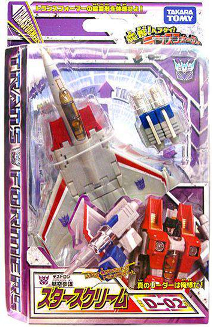 Transformers Japanese Classics Henkei Deluxe Starscream Deluxe Action Figure Set D-02 [Damaged Package]