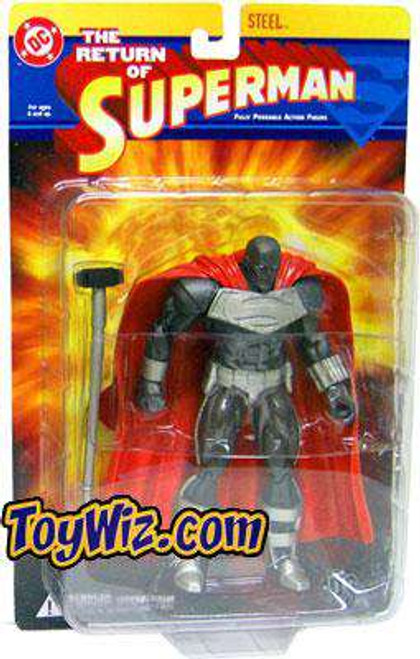 DC The Return of Superman Steel Action Figure