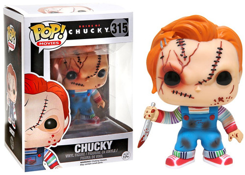 Funko Child's Play Bride of Chucky POP! Movies Chucky Exclusive Vinyl Figure #315 [Bride of Chucky]