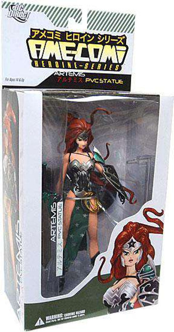 DC Ame-Comi Heroine Series Artemis 9-Inch PVC Statue [Damaged Package]