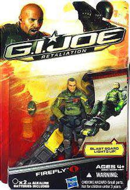 GI Joe Retaliation Firefly Action Figure [Damaged Package]