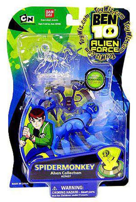 Ben 10 Alien Force Alien Collection Spidermonkey Action Figure [Damaged Package]