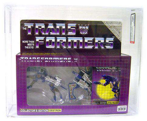 Transformers Japanese Collector's Edition Destron Howlback / Garboil Exclusive Action Figure [AFA U95 ] [AFA Graded 95]
