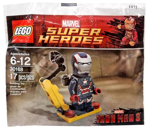 LEGO Marvel Captain America Civil War Iron Patriot Exclusive Mini Set #30168 [Bagged]