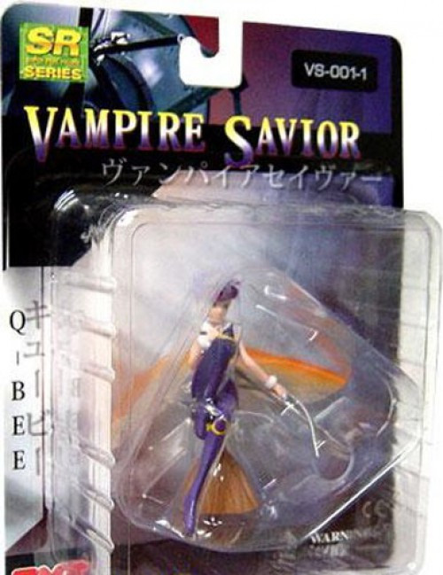 Darkstalkers Vampire Savior Series 1 Q-Bee PVC Mini Figure VS-001-01