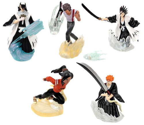 Bleach Series 4 Action Pose Set of 5 Figures PVC Figures