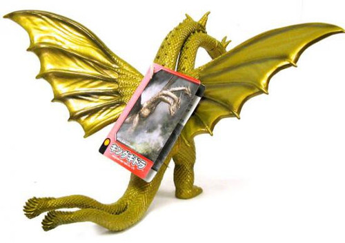 Godzilla 2005 King Ghidorah 9-Inch Vinyl Figure [Re-Paint]