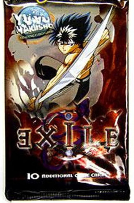 Yu Yu Hakusho Trading Card Game Exile Booster Pack [10 Cards]