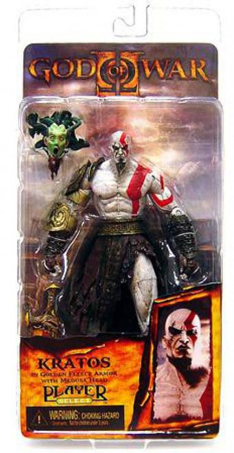 NECA God of War Series 1 Kratos Action Figure [Golden Fleece Armor]