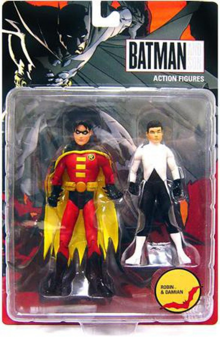 Batman and Son Robin & Damien Action Figure