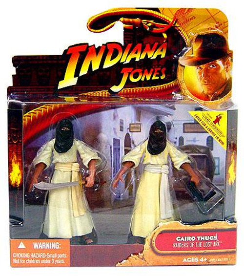 Indiana Jones Raiders of the Lost Ark Cairo Thugs Action Figure 2-Pack [Damaged Package]