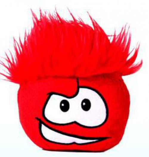 Club Penguin Series 1 Red Puffle 4-Inch Plush [Rockhopper's]