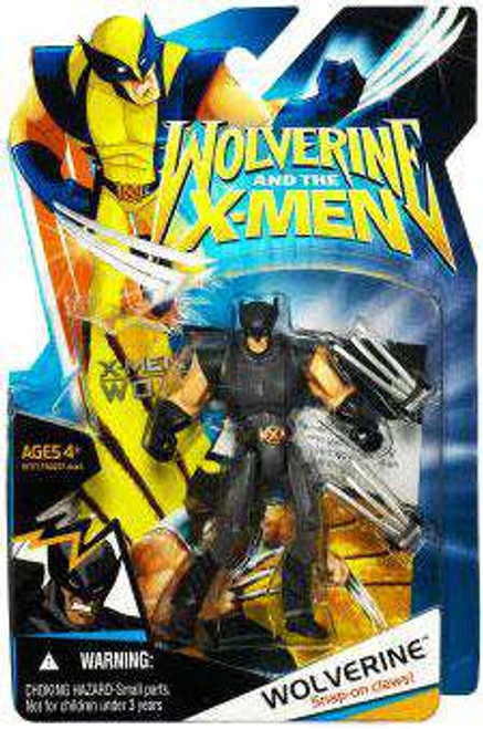 Wolverine and the X-Men Wolverine Action Figure [Black X-Factor Costume]