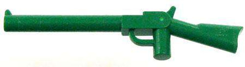 LEGO Green Rifle Loose Weapon [Loose]