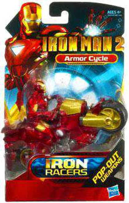 Iron Man 2 Iron Racers Armor Cycle Action Figure