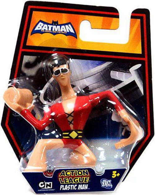 Batman The Brave and the Bold Action League Plastic Man Mini Figure
