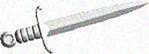 BrickArms Damien Blade 2.5-Inch [Silver]