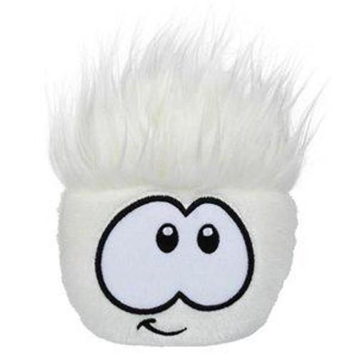 Club Penguin Series 8 White Puffle 4-Inch Plush