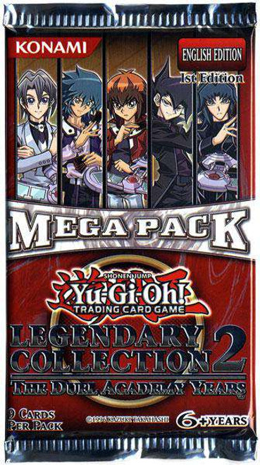YuGiOh Trading Card Game Legendary Collection 2 Booster Pack [9 Cards]
