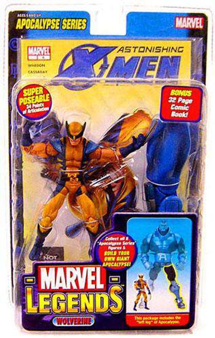 Marvel Legends Series 12 Apocalypse Astonishing X-Men Wolverine Action Figure