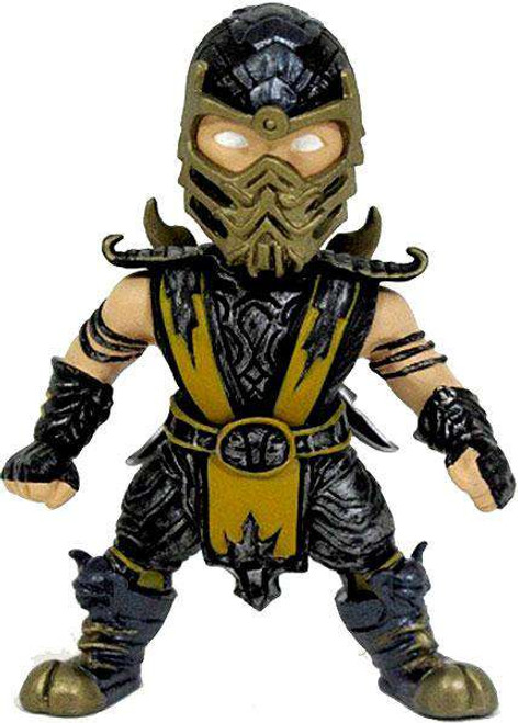 Mortal Kombat Super Deformed Scorpion 2.75-Inch Mini Figure
