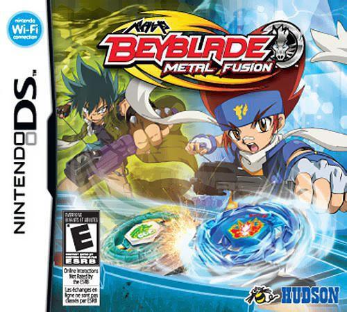 Nintendo DS Beyblade Metal Fusion Video Game [Kyoya Tategami]