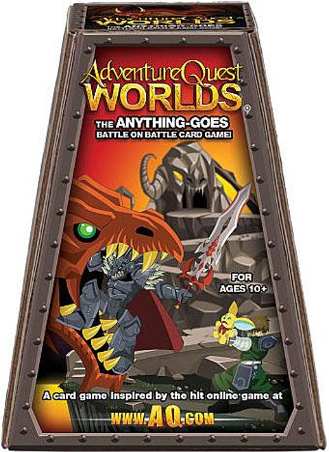 Adventure Quest Worlds The Anything Goes Battle on Battle Card Game