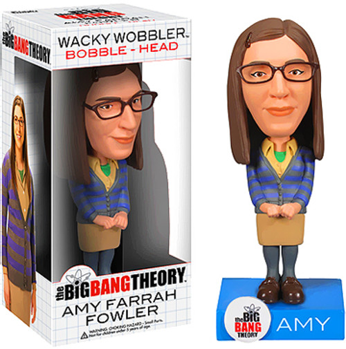 Funko The Big Bang Theory Wacky Wobbler Amy Fowler Bobble Head