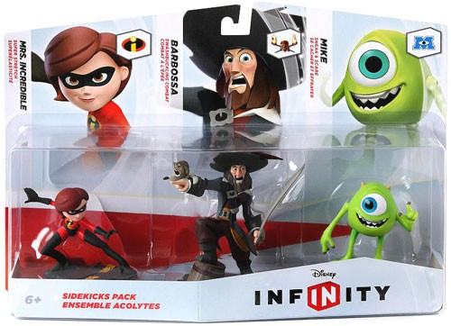 Disney Infinity Sidekicks Game Figure 3-Pack