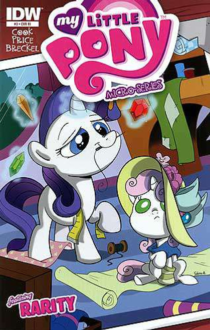 My Little Pony Micro-Series #3 Featuring Rarity Comic Book [Retailer Incentive]