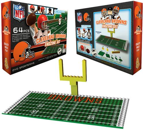 NFL Generation 1 Cleveland Browns Endzone Set