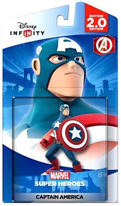 Disney Infinity 2.0 Edition Marvel Super Heroes Captain America Game Figure