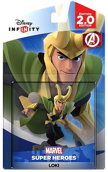 Disney Infinity 2.0 Marvel Super Heroes Loki Laufeyson Game Figure