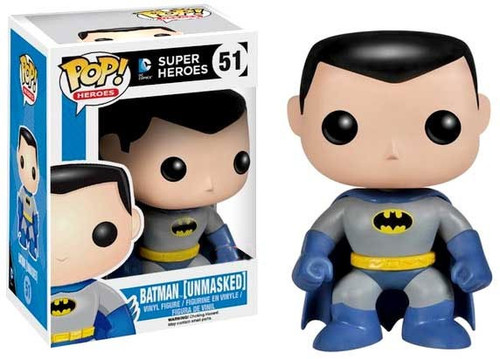 Funko DC Super Heroes POP! Heroes Batman Exclusive Vinyl Figure #51 [Unmasked]