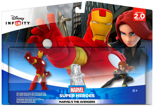 Disney Infinity 2.0 Edition Marvel Super Heroes Marvel's The Avengers Game Figure 2-Pack