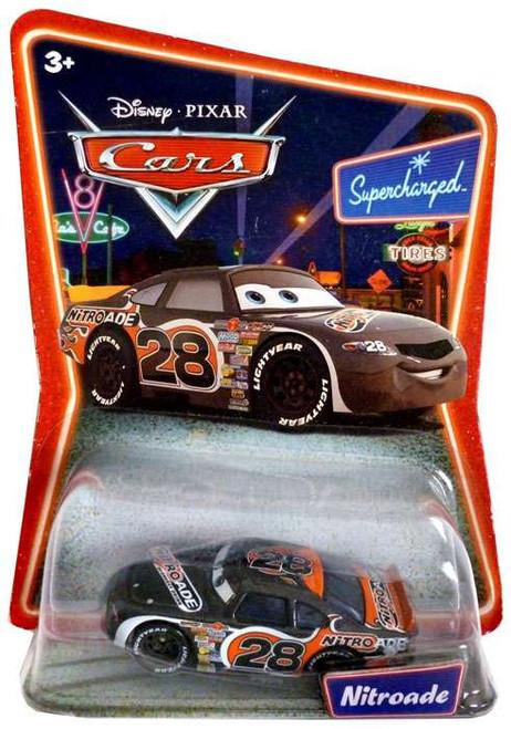 Disney / Pixar Cars Supercharged Nitroade Diecast Car [Damaged Package]