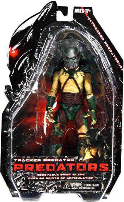 NECA Predators Series 2 Tracker Predator Action Figure [Damaged Package]
