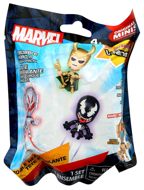 Marvel Original Minis Villains Series 1 Bobble Head Mystery Pack