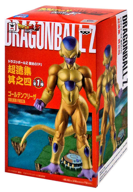 Dragon Ball Z DXF Golden Frieza 5.2-Inch PVC Figure [Resurrection of F, Damaged Package]