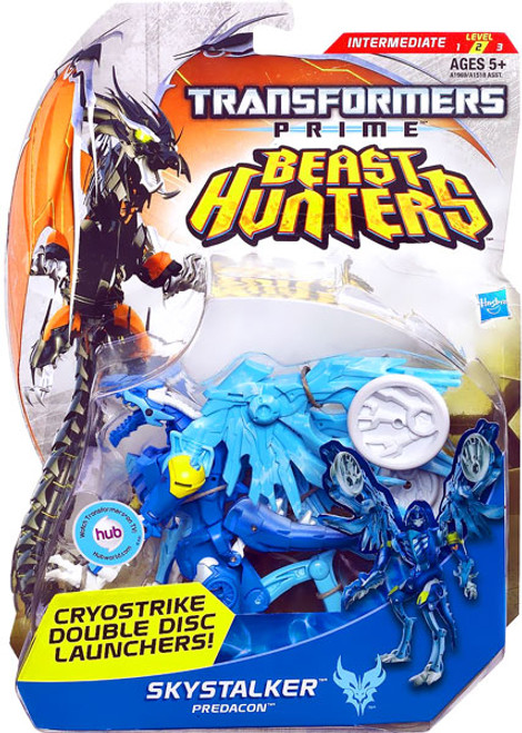 Transformers Prime Beast Hunters Skystalker Deluxe Action Figure [Damaged Package]