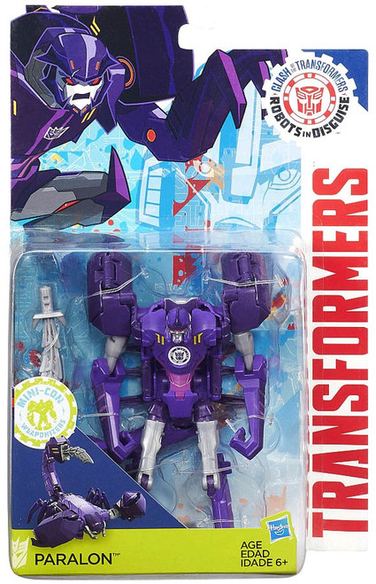 Robots in Disguise Clash of the Transformers Paralon Exclusive Action Figure