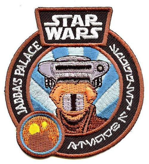 Funko Star Wars The Force Awakens Jabba's Palace Boushh Patch