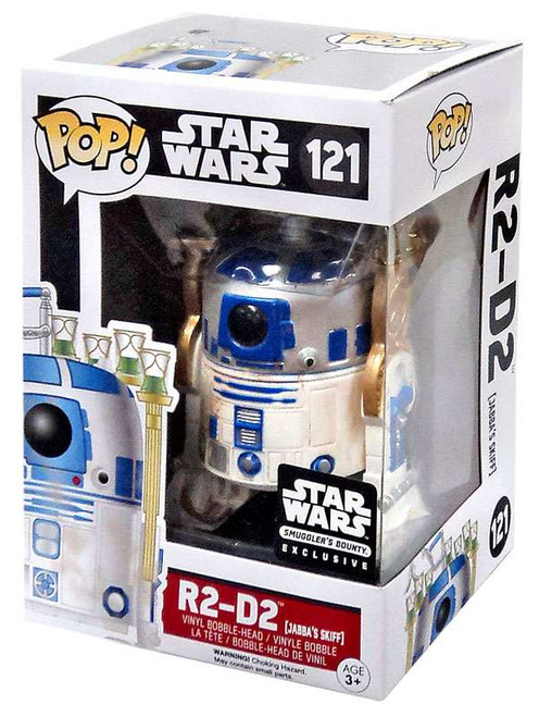 Funko POP! Star Wars R2-D2 Exclusive Vinyl Bobble Head #121 [Jabba's Skiff, Damaged Package]